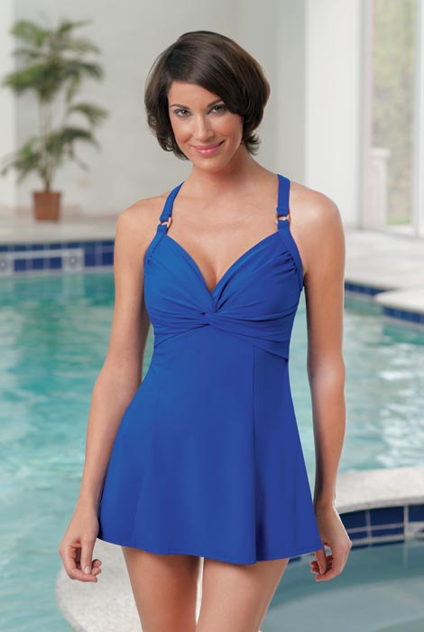 Carol Wior Swim Dress - So Cute Swimdress - As We Change