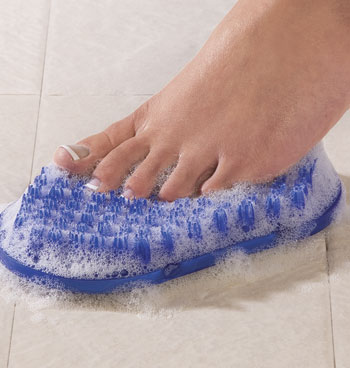 Soapy Toes™ Foot Scrubber - View 2