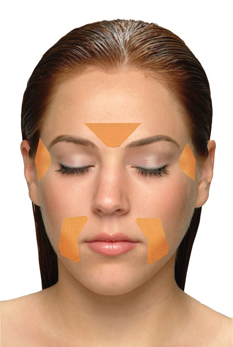 Frownies® Forehead And Between Eyes Facial Patches - View 4