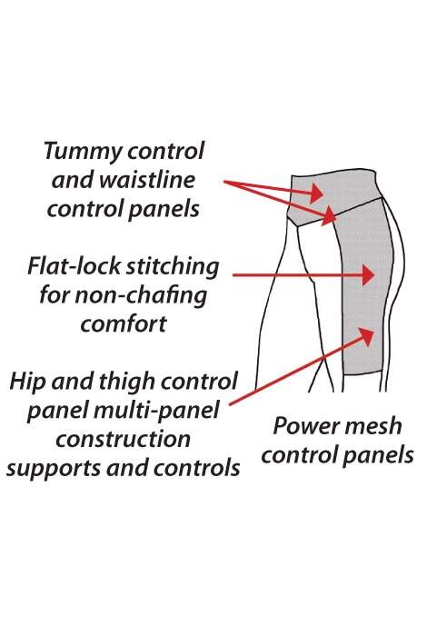 ActivShaper™ Slimming Ankle Pants - View 2