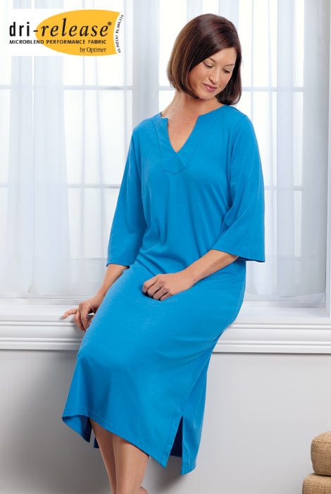 Dri-Release Long Caftan - View 2