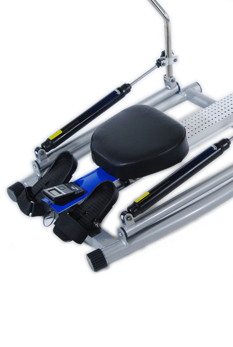 Orbital Rower with Free Motion Arms 1215 - View 2