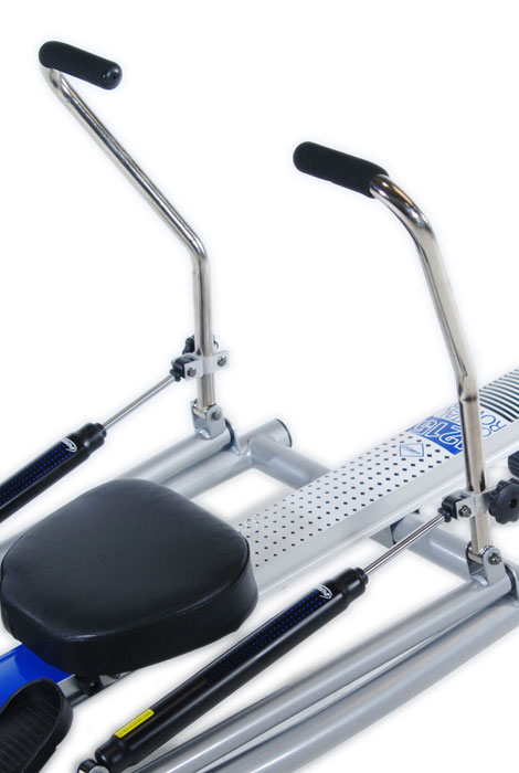Orbital Rower with Free Motion Arms 1215 - View 3