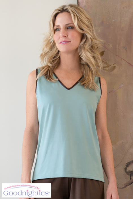 Sleeveless Top With Ionx® Technology SM-XL - View 4