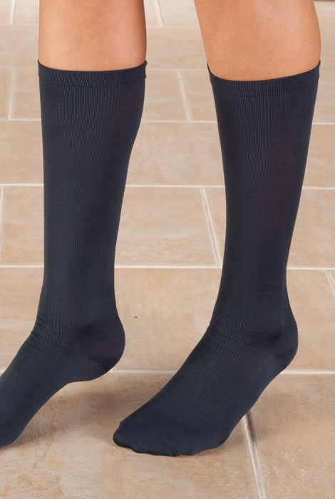 Knee High Compression Socks, 8-15mmHG - View 2