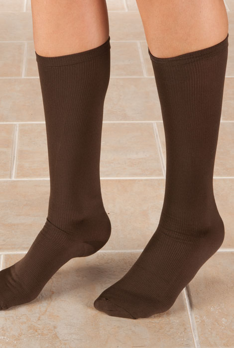 Knee High Compression Socks, 8-15mmHG - View 3
