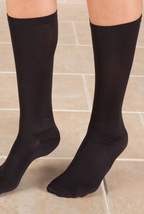 Knee High Compression Socks, 8-15mmHG - View 4