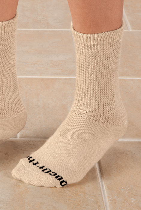 Doc Ortho™ Ultra Soft Diabetic Socks - 3 Pairs - View 4