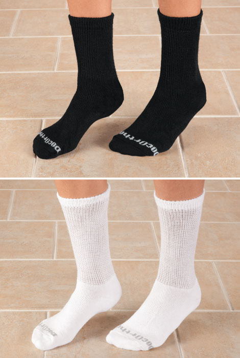 Doc Ortho™ Ultra Soft Diabetic Socks - 3 Pairs - View 5