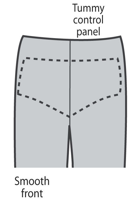 Slimfitters™ Slimming Bermuda Shorts - View 5