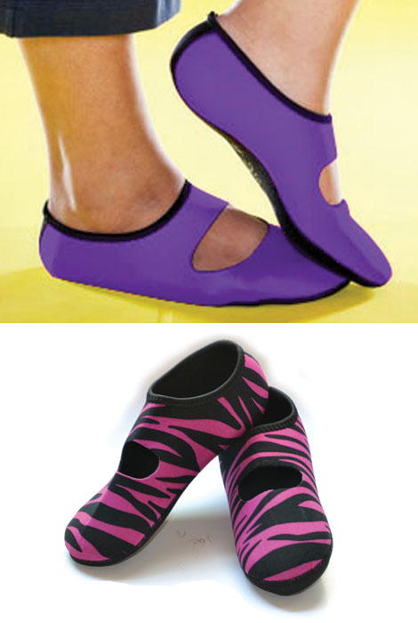 NuFoot Neoprene Shoes - Mary Jane - View 3