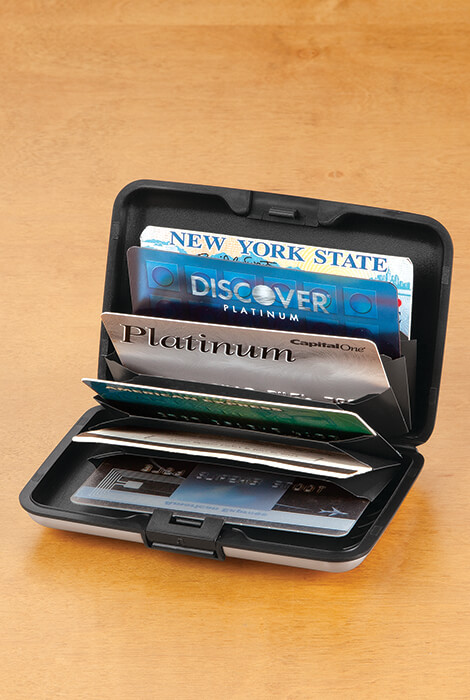 RFID Aluminum Credit Card Holder - View 2