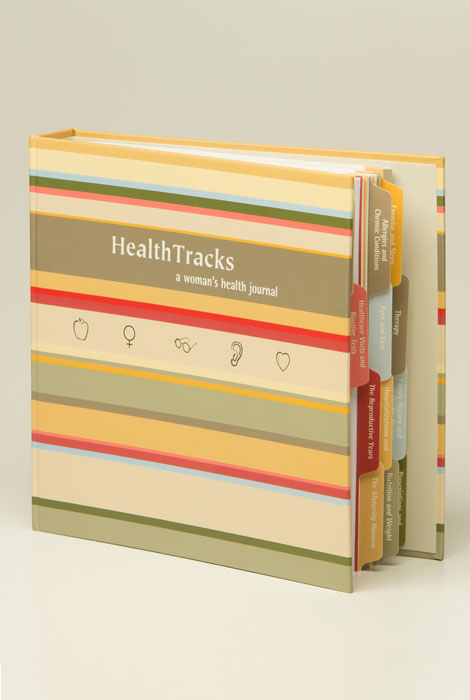 Health Tracks - A Woman's Health Journal - View 2