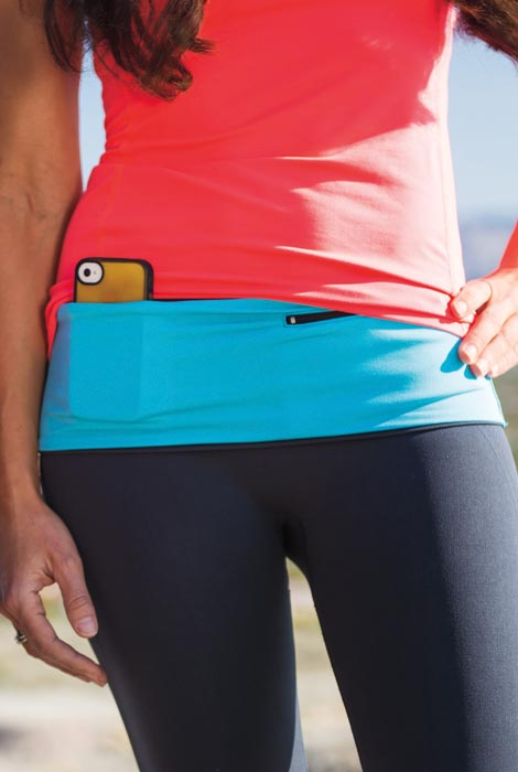 Hands Free Multi Pocket Hip Band - View 2