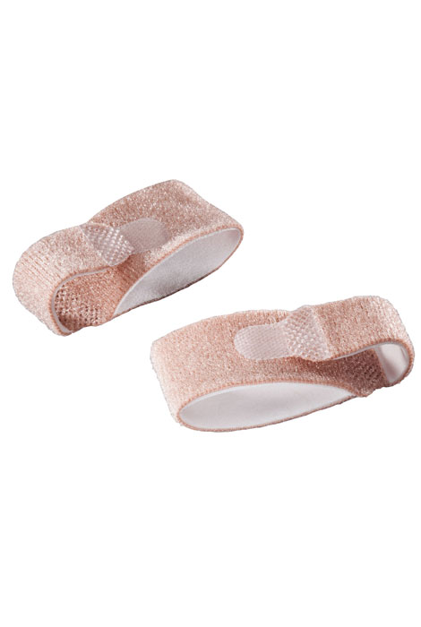 Silver Steps™ Toe Straightening Wraps, Set of 2 - View 2