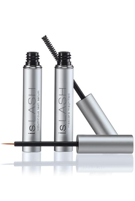 i.s. LASH™ Voluminous Lash Serum with FREE Mascara Magnified - View 2