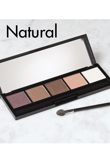 Bellapierre® 5 Color Eye Shadow Palette - View 3