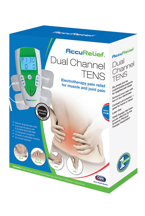 AccuRelief™ Dual Channel TENS - View 3