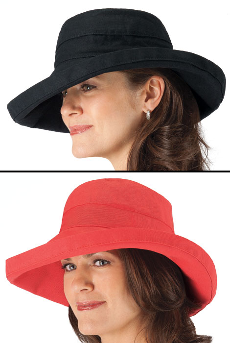 UPF 50+ Big Brim Hat by Scala - View 2