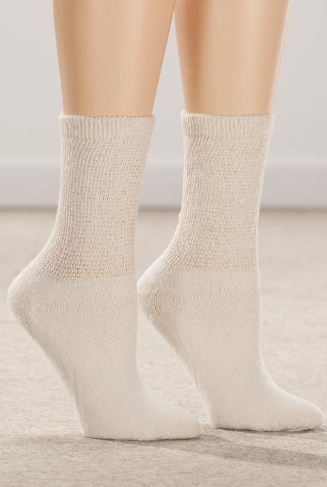 Healthy Steps™ 3-Pack Diabetic Socks - View 2