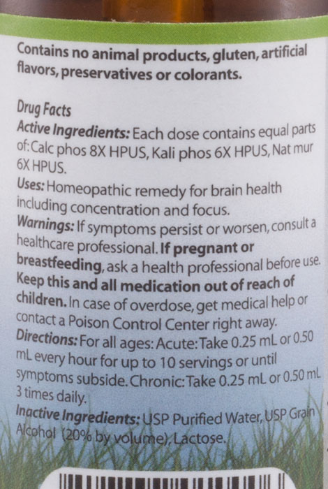 NativeRemedies® Triple Complex Brain Tonic™ - 2 oz. - View 2