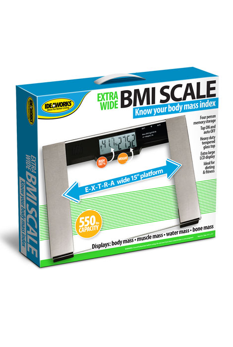 Extra-Wide BMI Scale - View 2
