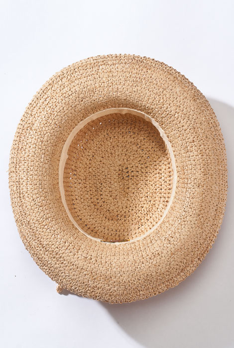 Raffia Roll-Up Hat - View 2