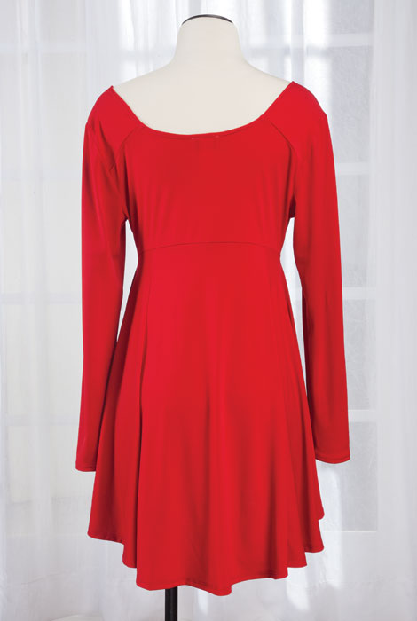 High-Low Swing Tunic - View 4