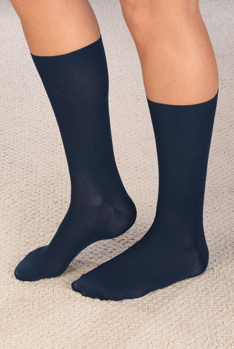 Therapeutic Support Dress Socks - View 3