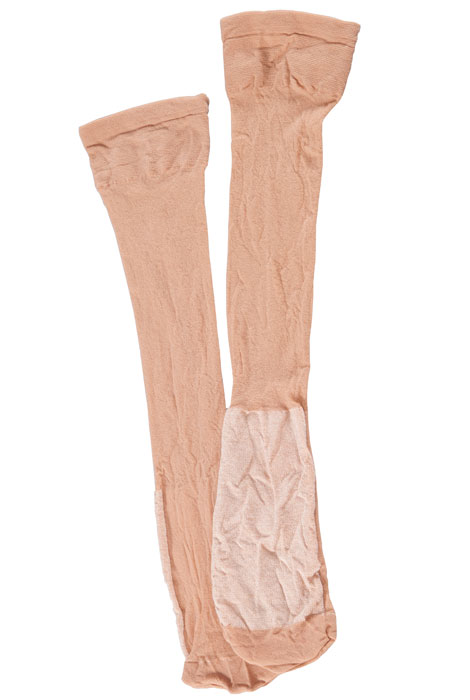 Dry Feet Cotton Sole Knee Highs, 3 Pair - View 2