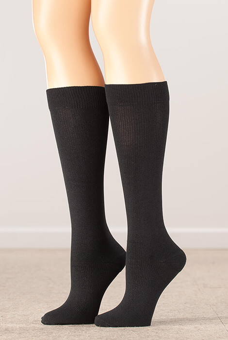Silver Steps™ Compression Socks 8–15 mmHg - View 2
