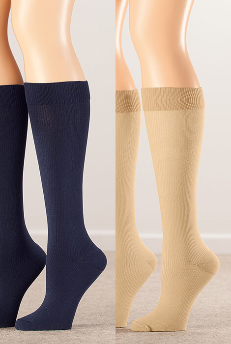 Silver Steps™ Compression Socks 8–15 mmHg - View 4