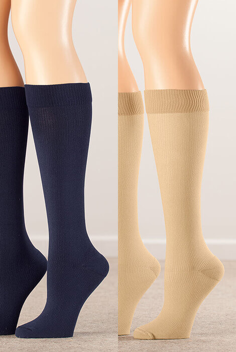 Silver Steps™ Compression Socks 15-20 mmHg - View 4