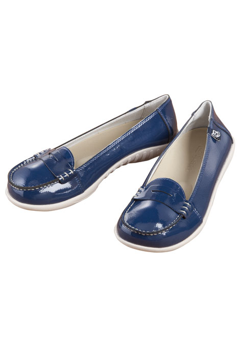 Spenco® Siesta Penny Patent Leather - View 3