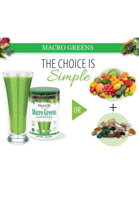 MacroLife® Naturals Macro Greens Super Food - View 4