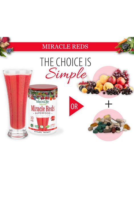 MacroLife® Naturals Miracle Reds Super Food - View 4