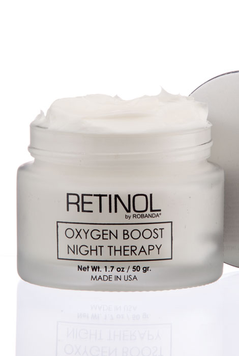 Retinol by Robanda® Oxygen Boost Night Therapy - View 2