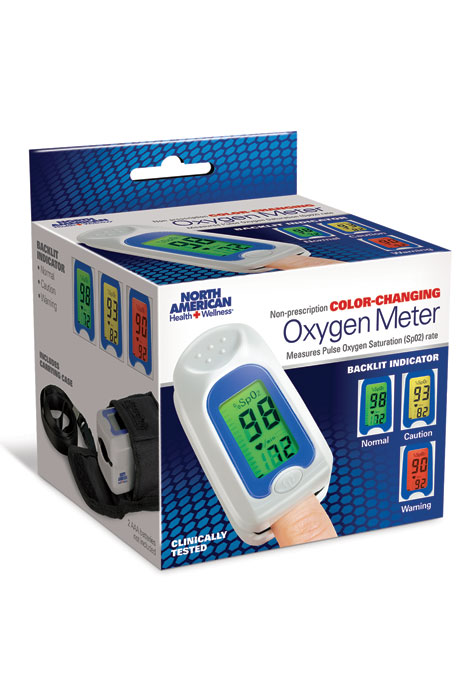 Color Changing Pulse Oximeter - View 5