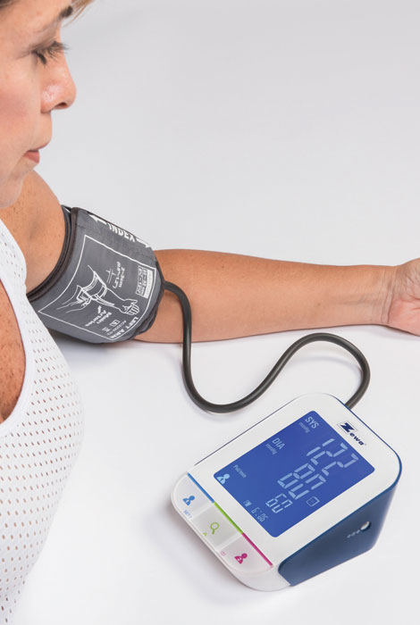 Zewa® Bluetooth Blood Pressure Monitor - View 2