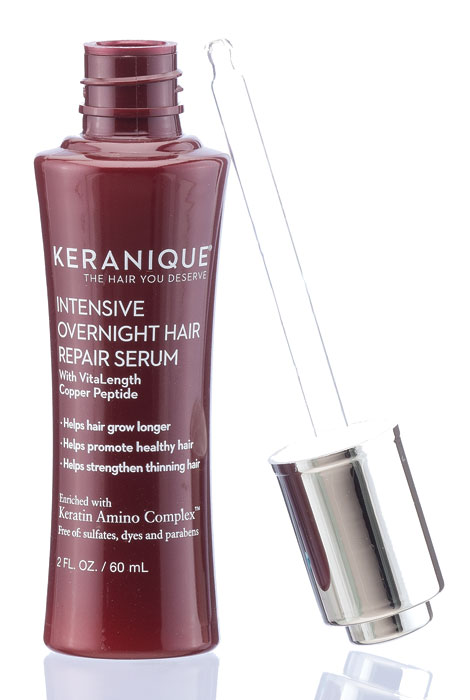 Keranique® Intensive Overnight Hair Repair Serum - View 2