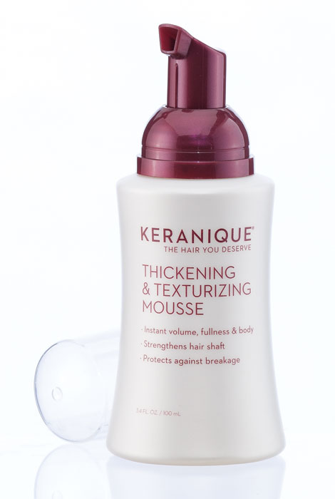 Keranique® Thickening and Texturizing Mousse - View 2