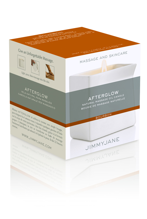 JimmyJane AfterGlow  Massage Oil Candle - View 2