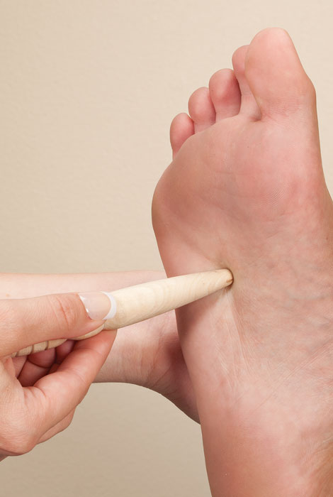 Traditional Wooden Reflexology and Massage Stick - View 2