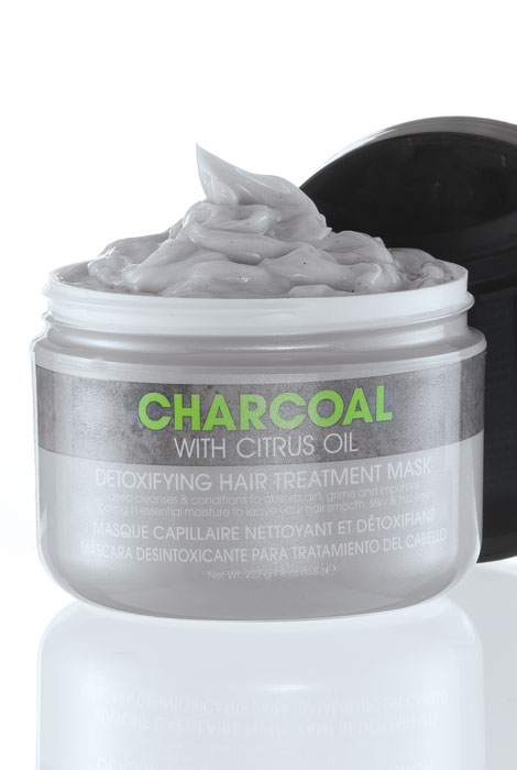 Charcoal Detoxifying Hair Treatment Mask - View 2