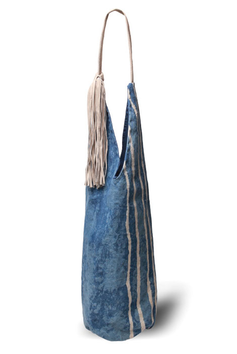 Paz Tote with Suede Tassle and Handle - View 3