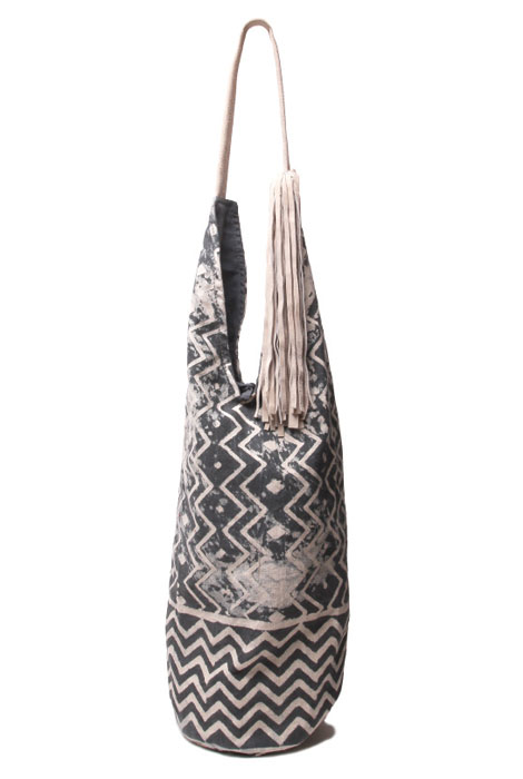Paz Tote with Suede Tassle and Handle - View 4