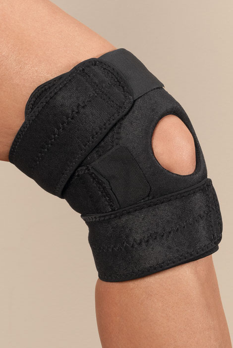 Nufoot Neoprene Knee Brace - View 2