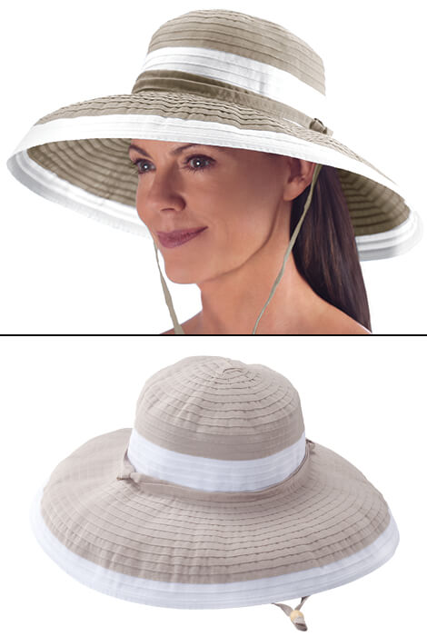 Gemini UPF 50+ Sun Hat by Physicians Endorsed - View 3