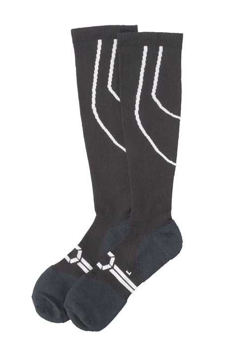 Silver Compression Socks, 20–30 mmHg - View 2