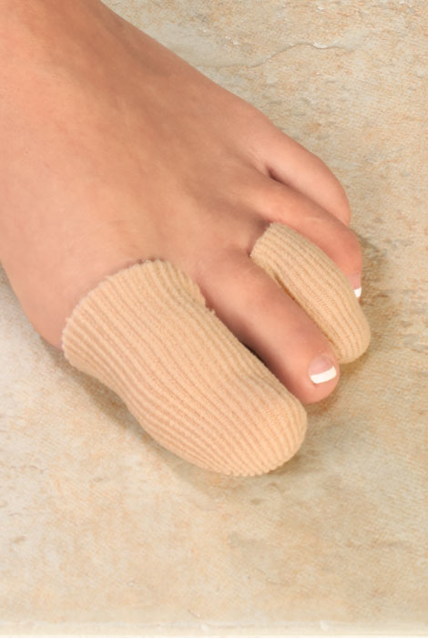Silver Steps™ Antibacterial Toe or Finger Caps, Set of 4 - View 4